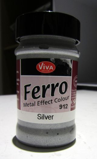 Ferro metal effect paint