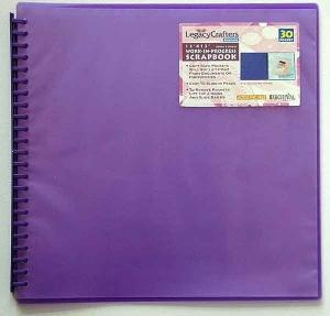 Legacy purple 12 x 12