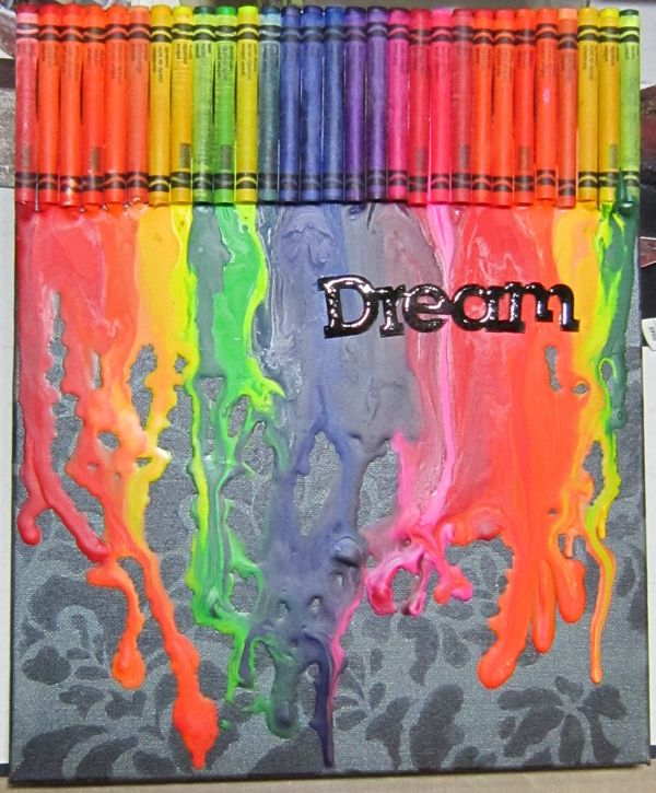 Download Crayon Art Canvas with Magicals Background (Sparkle Tart - Creating Art That Shines)