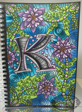 Kate's Copic art journal