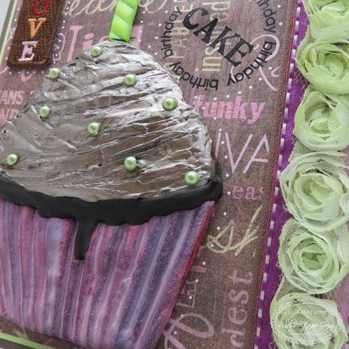 Muffin Birthday Card