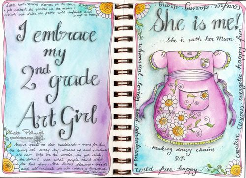 2nd gradeart girl wm