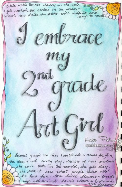 2nd gradeart girl 1b