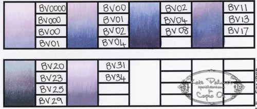 Copic colour journal - 1b