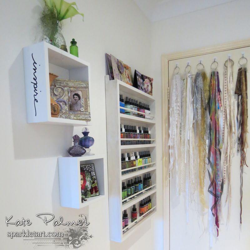 Craft room behind door