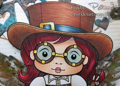 Top Hat Steampunk Marci by Sparkle Tart wm 1n
