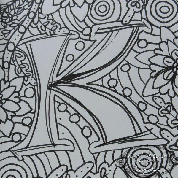 Doodling For Beginners Sparkle Tart