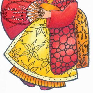 Dress doodle - 1