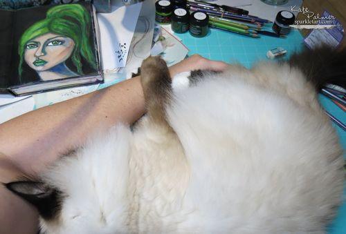 Saffy hug