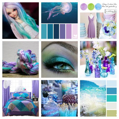 Colour Scheme Inspiration for blog