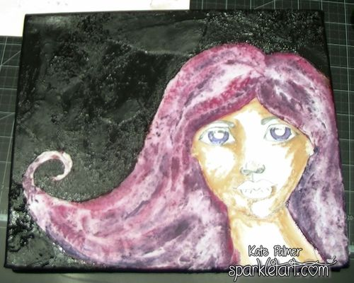 Mixed Media Hair-6