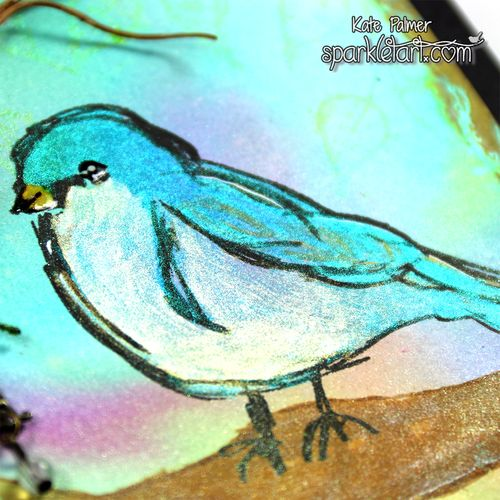 Magical Scribbly Bird 1d