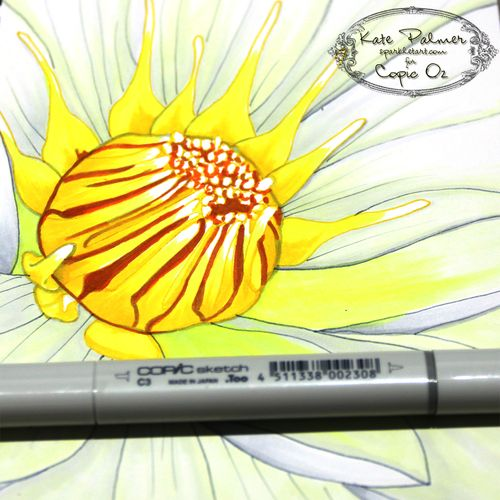 Copic Flower 5a wm