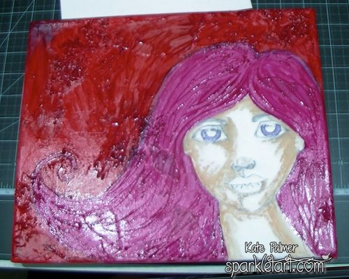 Mixed Media Hair-1