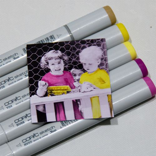Copic Colouring on Gloss-1 copy
