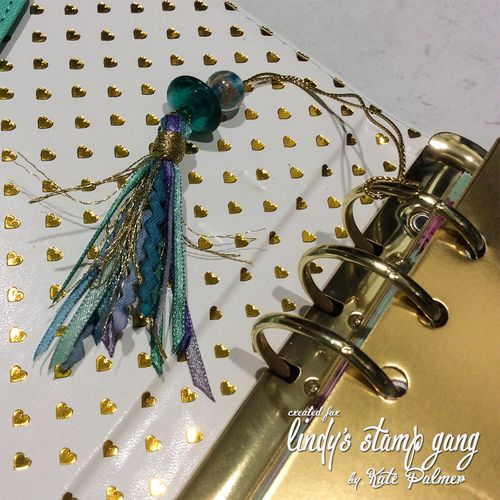 DIY Planner Tassel using LSG Starbursts 9a