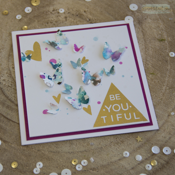 Recycled Butterfly Card-3a