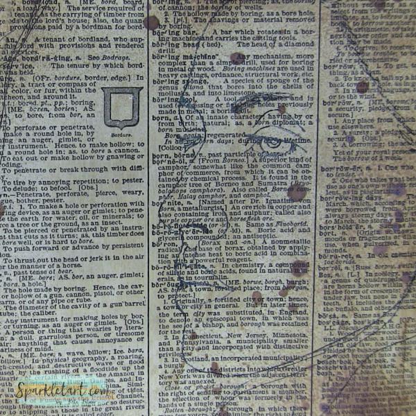 Gelatos on Vintage paper 1a