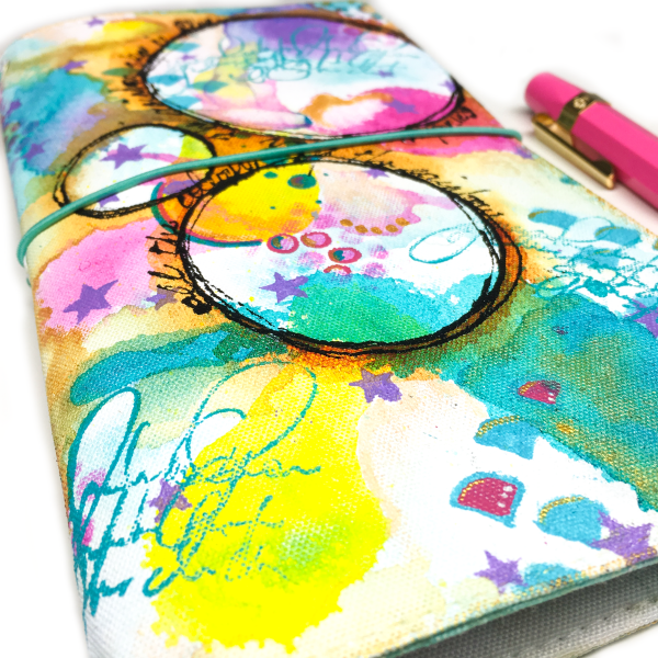 Painted Journal Cover 2