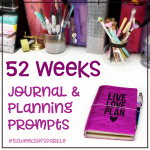 52 Weeks of Sparkle: Journal and Planner Prompts