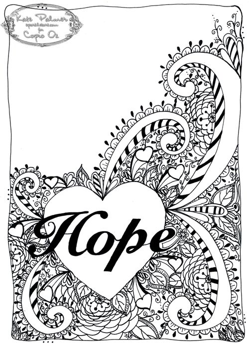 Hope for Breast Cancer bw wm