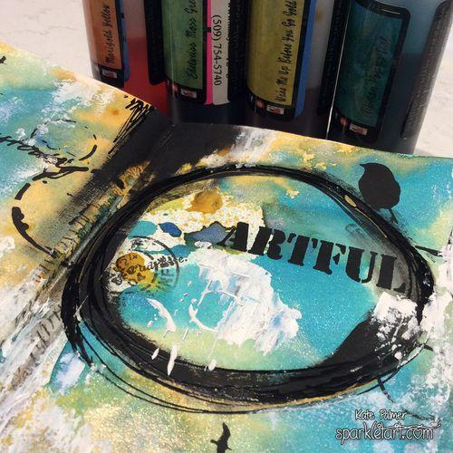 Artful Journal page