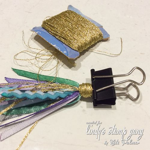 DIY Planner Tassel using LSG Starbursts 7a