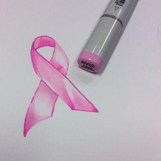 Pink Ribbon Monochrome 9