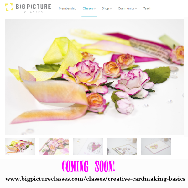 Coming Soon Creative Cardmaking Square