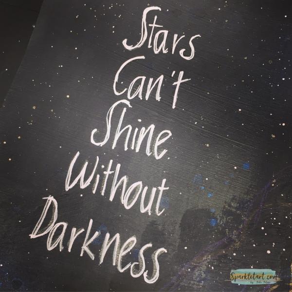 Stars can't shine layout