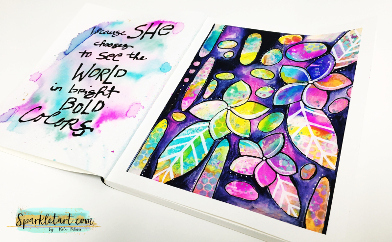Frangipani Art Journal Pge 14a