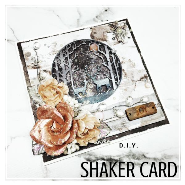 DIY Shaker Card square