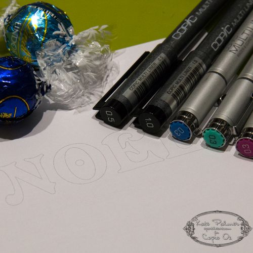 Copic Typography Christmas-1