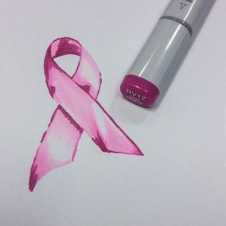 Pink Ribbon Monochrome 10