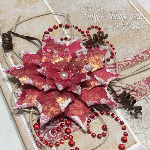 LSG Christmas Poinsettia Card 5 wm