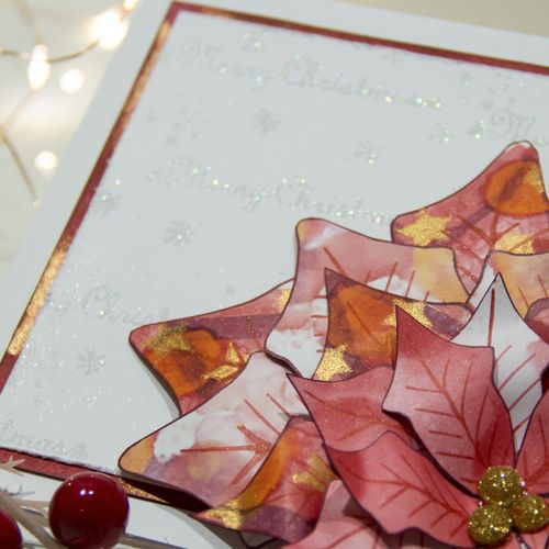 Copic Christmas Poinsettia Card-3