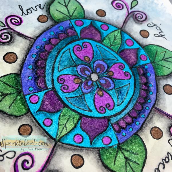 Doodled Mandala 2016 WM