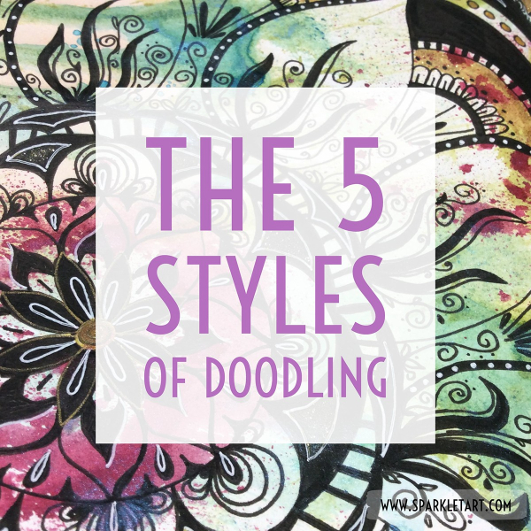 There Five Main Styles Or Types Of Doodle Based Art Are: