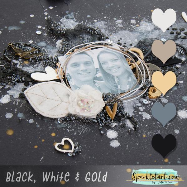 Black and White Colour Palette Inspiration 2016