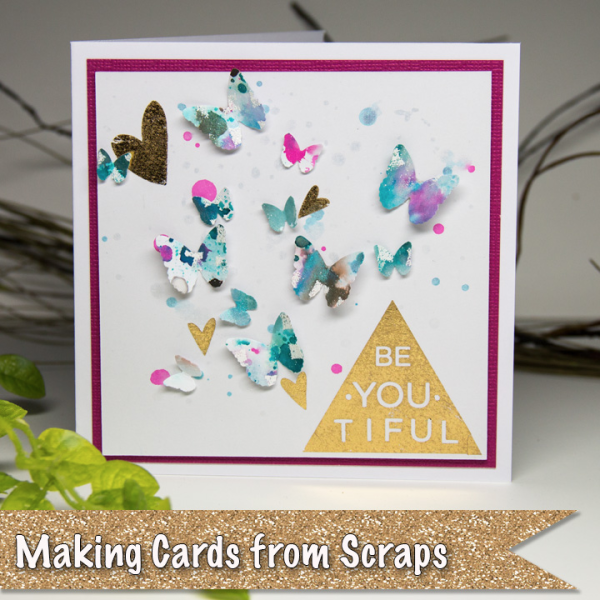 Blog Post First Image - Making Cards from Scraps