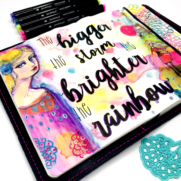 Planner Page Goals with Jane Davenport Supplies 12a
