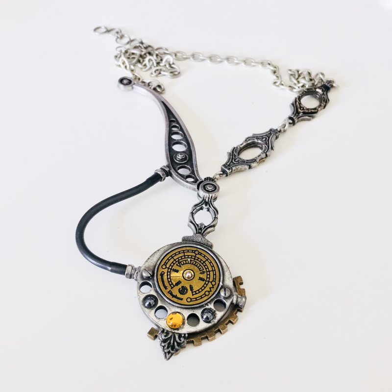 Altered Steampunk Necklace 2
