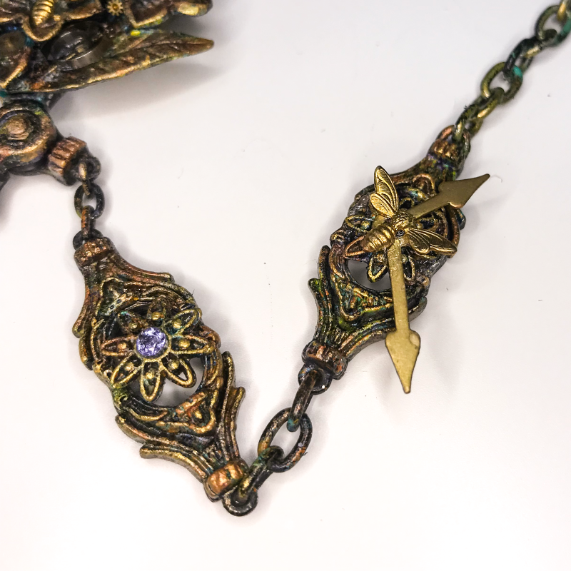 Altered Steampunk Necklace 9a