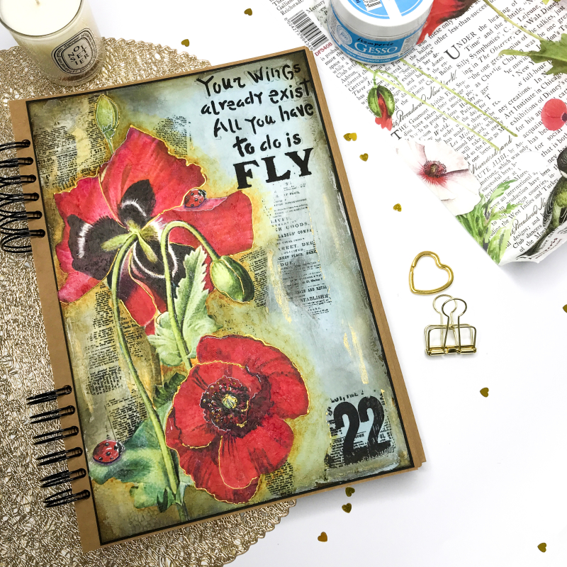 Poppies Page-Stamperia-07