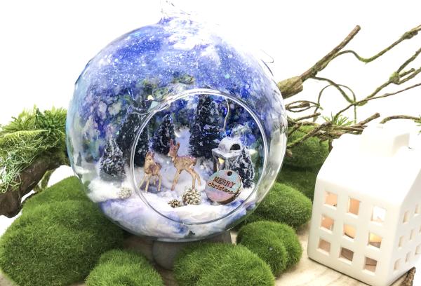 DIY Winter Glass Bauble 17