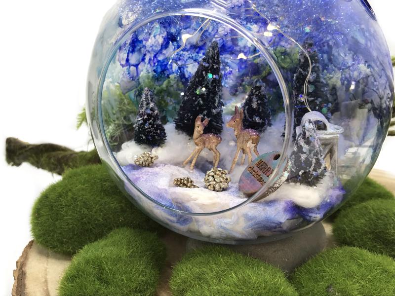 DIY Winter Glass Bauble 18