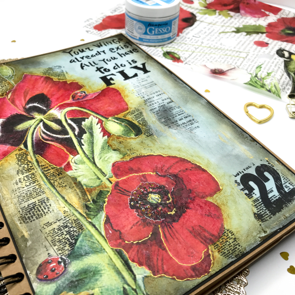 Poppies Page-Stamperia-11