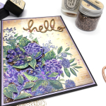 Vintage Toned Background using Distress Inks and Oxides