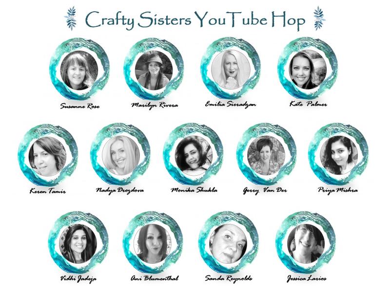 Crafty sisters hop