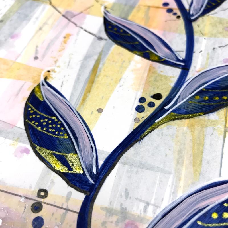 Dina Wakley Acrylic Paint Journal Page 11